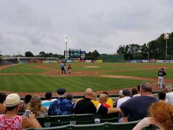 TicketReturn.com Field, sección: 109, fila: G, asiento: 7