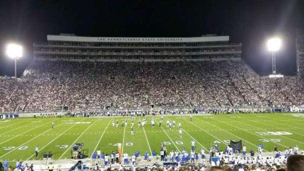 Beaver Stadium, sección: WF, fila: 21, asiento: 31
