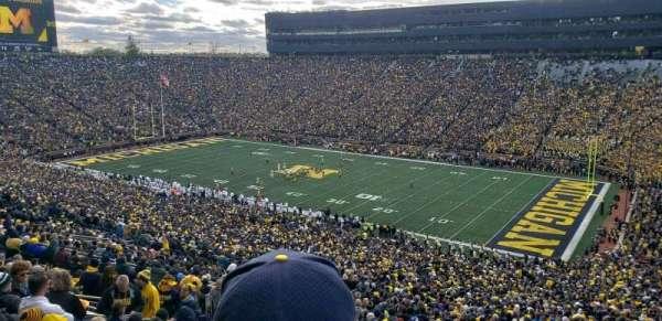 Michigan Stadium, sección: 40, fila: 89, asiento: 2