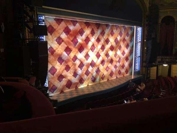 Brooks Atkinson Theatre, sección: Front Mezzanine L, fila: A, asiento: 21-13