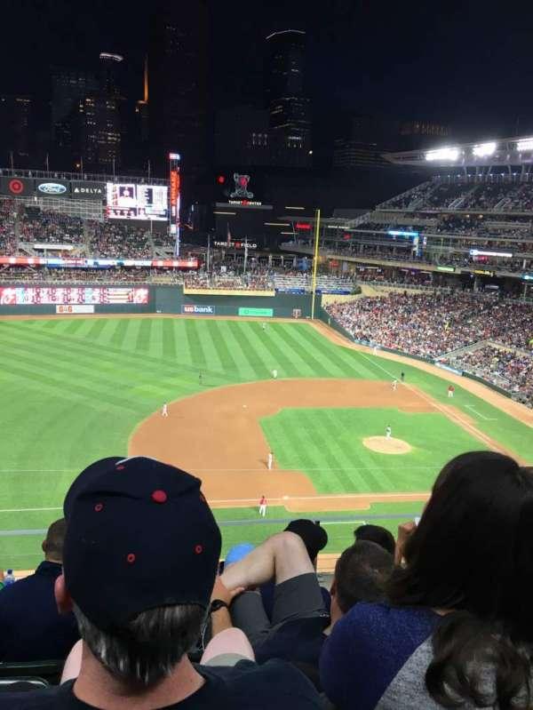 Target Field, sección: 222, fila: 5, asiento: 11