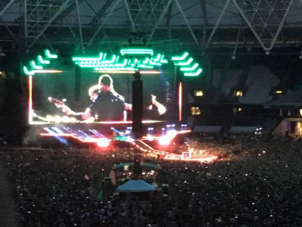 London Stadium, sección: 244, fila: 43, asiento: 172