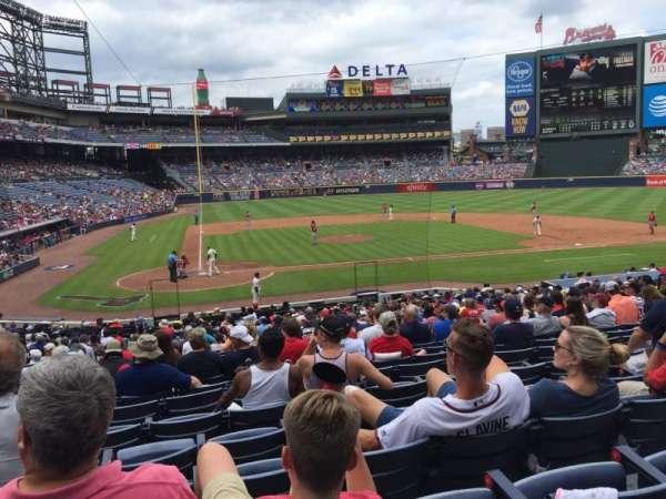 Turner Field, sección: 105R, fila: 26, asiento: 7