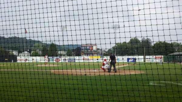 BB&T Ballpark at Historic Bowman Field, sección: s, fila: c, asiento: 2