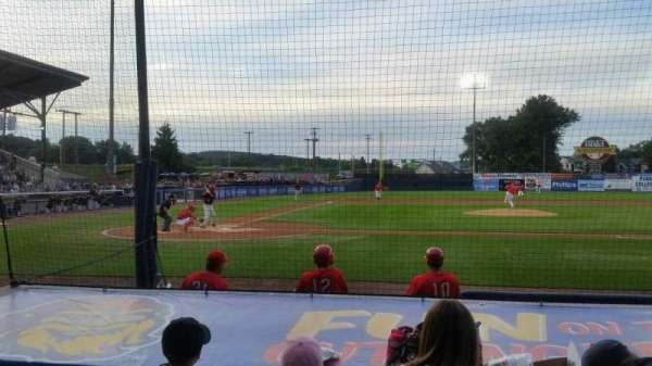 BB&T Ballpark at Historic Bowman Field, sección: d, fila: i, asiento: 3