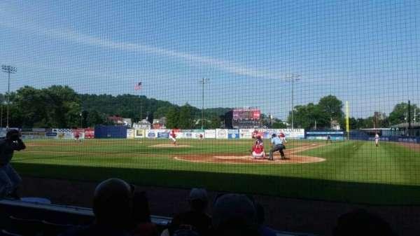 BB&T Ballpark at Historic Bowman Field, sección: j, fila: 8, asiento: 1