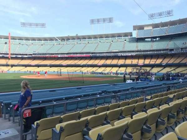 Dodger Stadium, sección: 39FD, fila: E, asiento: 1