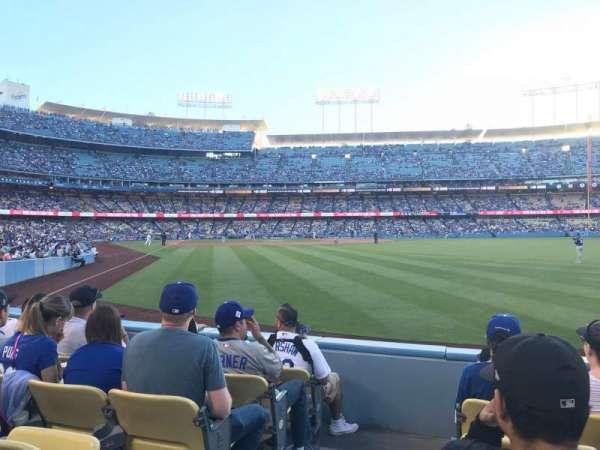 Dodger Stadium, sección: 52FD, fila: E, asiento: 1