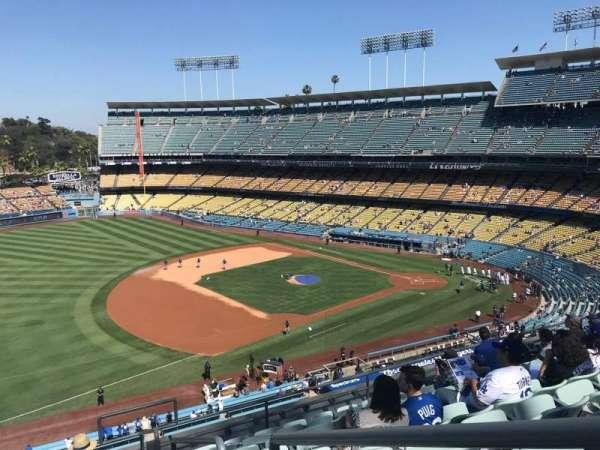 Dodger Stadium, sección: 31RS, fila: J, asiento: 1