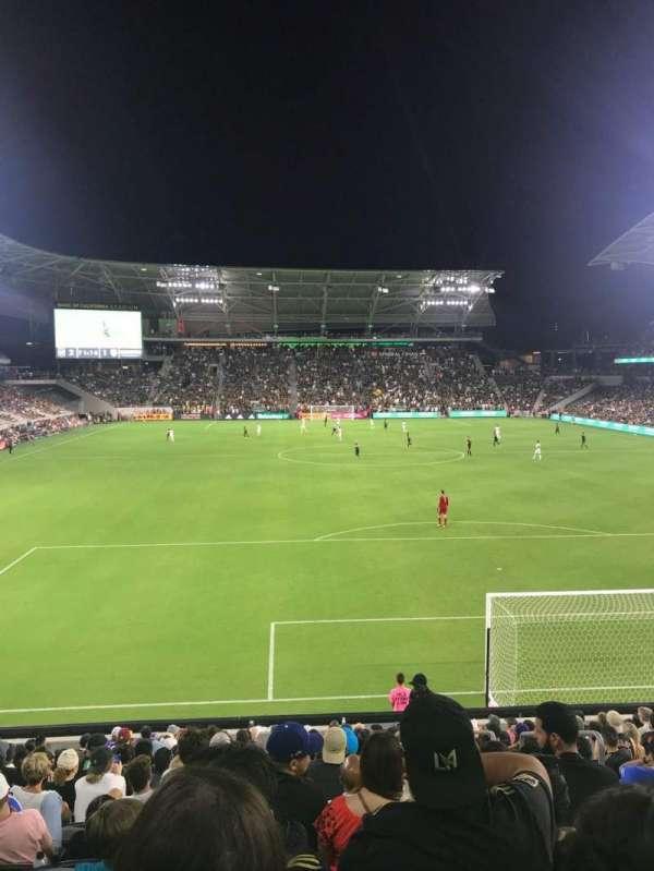 Banc of California Stadium, sección: 123, fila: R, asiento: 3