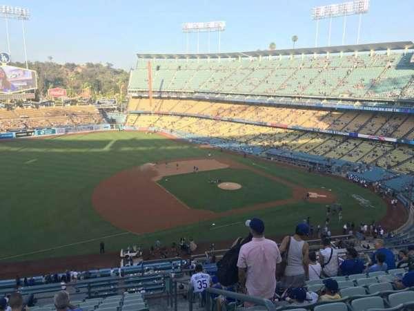 Dodger Stadium, sección: 27RS, fila: L, asiento: 1