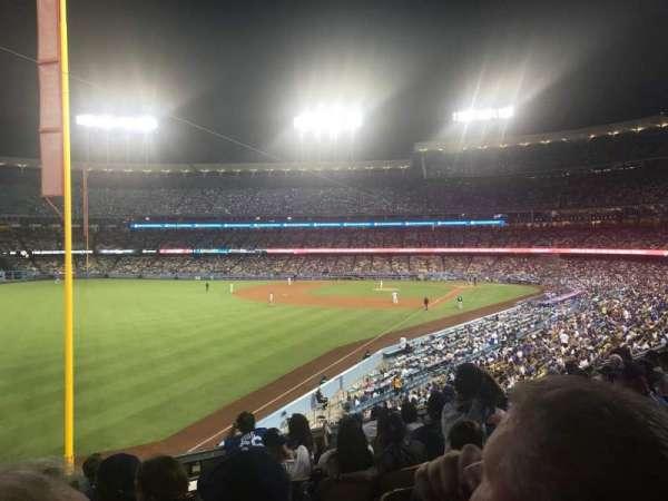 Dodger Stadium, sección: 163LG, fila: H, asiento: 2
