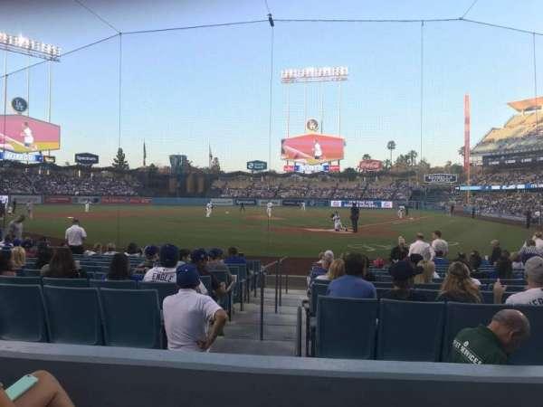 Dodger Stadium, sección: 5FD, fila: C, asiento: 3
