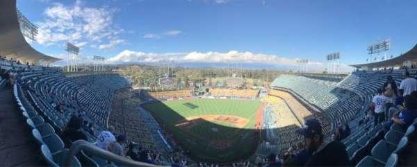 Dodger Stadium, sección: 3TD, fila: N, asiento: 20