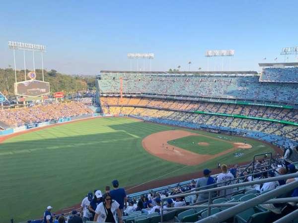 Dodger Stadium, sección: 41RS, fila: FF, asiento: 14