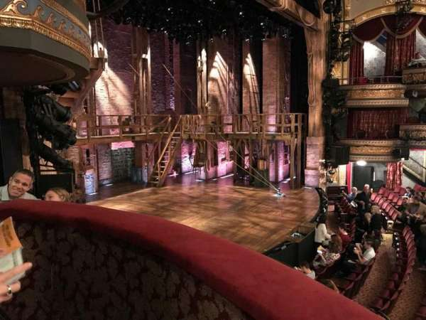 Richard Rodgers Theatre, sección: BOX B, fila: A, asiento: 1