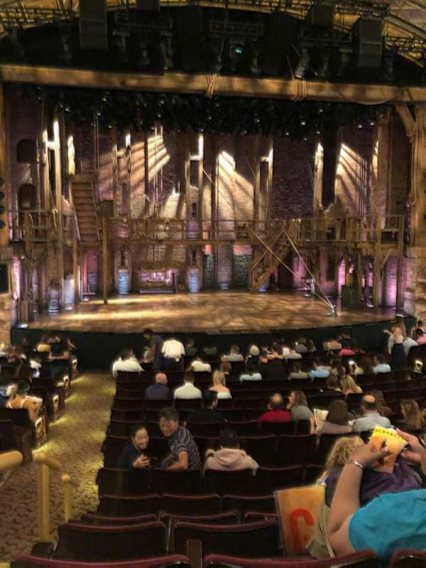 Richard Rodgers Theatre, sección: Orchestra C, fila: P, asiento: 112