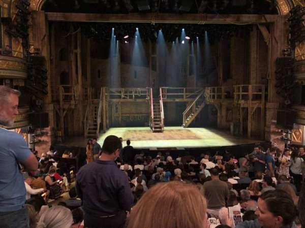 Richard Rodgers Theatre, sección: Orchestra C, fila: P, asiento: 107