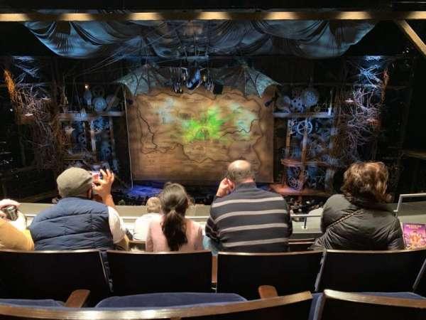Gershwin Theatre, sección: Front Mezzanine C, fila: E, asiento: 111