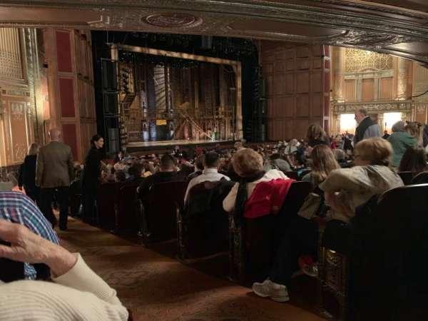 Benedum Center, sección: Orchestra L, fila: V, asiento: 53