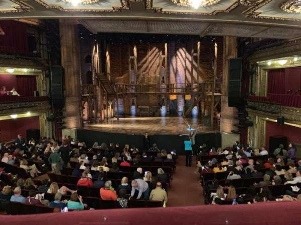 CIBC Theatre, sección: Dress Circle RC, fila: A, asiento: 222