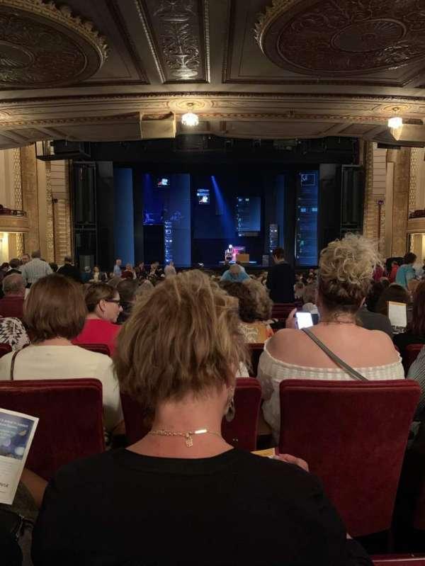 Connor Palace, sección: Orchestra C, fila: EE, asiento: 308
