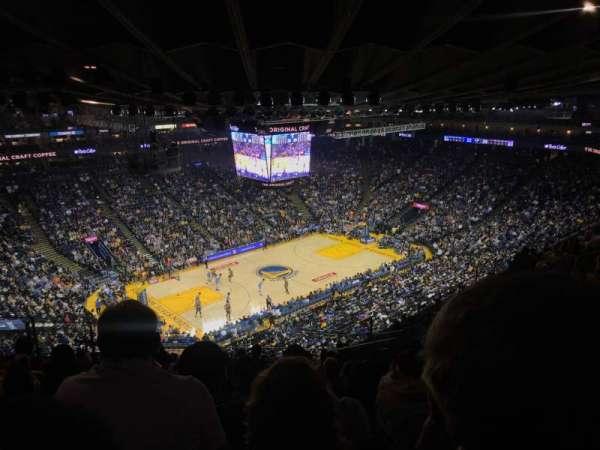 Oracle Arena, sección: 220, fila: 13, asiento: 7