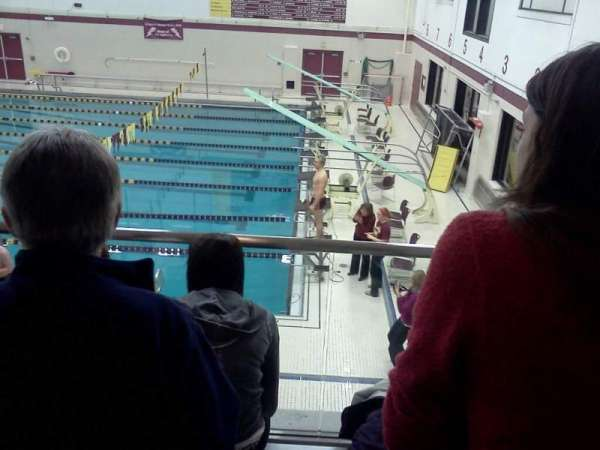 Lockport High School Swimming Place, sección: 3, fila: 3, asiento: 5