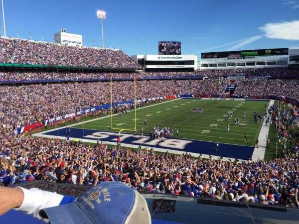 New Era Field, sección: 243, fila: 2, asiento: 1