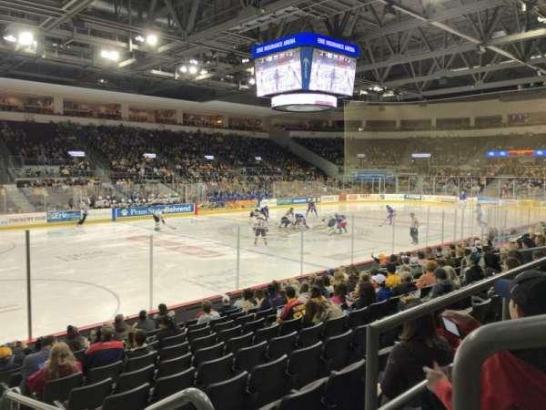 Erie Insurance Arena, sección: 201, fila: L, asiento: 1