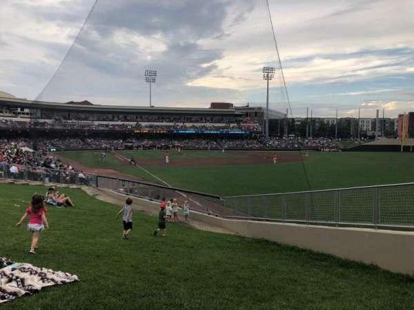 Fifth Third Field (Dayton), sección: Lawn, fila: A, asiento: 3