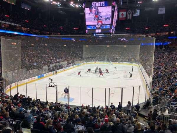 Nationwide Arena, sección: 119, fila: AAW, asiento: 9