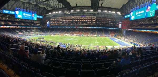 Ford Field, sección: 129, fila: 39, asiento: 8
