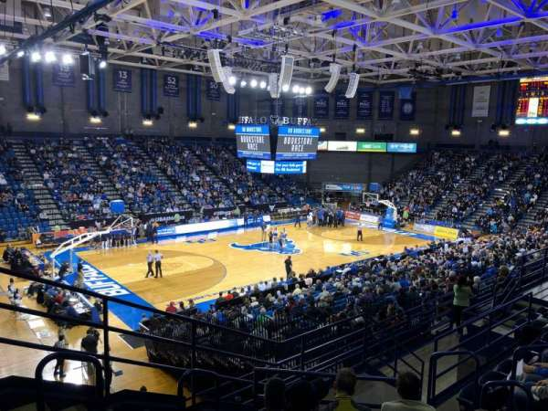 Alumni Arena (University at Buffalo), sección: 209, fila: G, asiento: 9