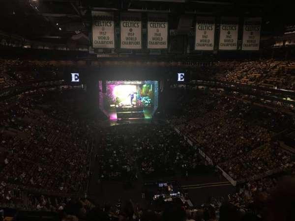 TD Garden, sección: Bal 309, fila: 12, asiento: 19