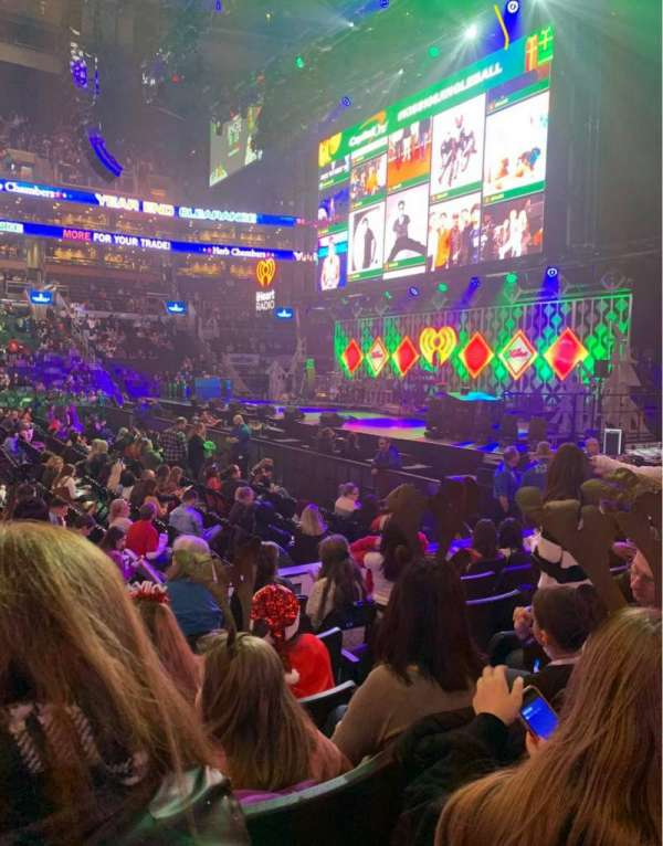 TD Garden, sección: 21, fila: 7, asiento: 18