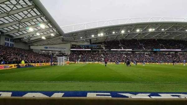 American Express Community Stadium, sección: W1H, fila: C, asiento: 193