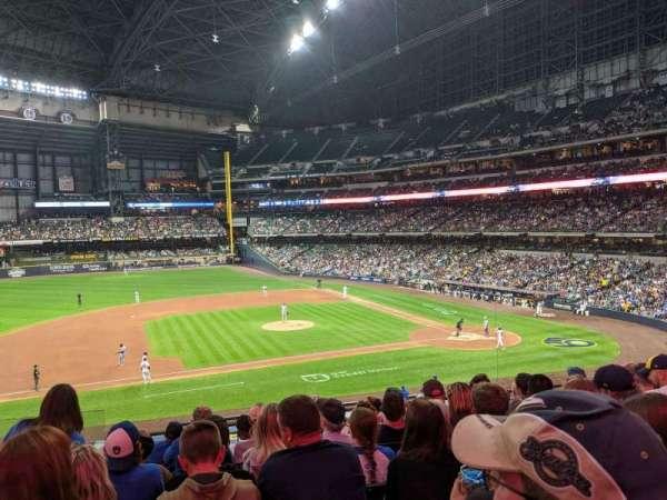 American Family Field, sección: 224, fila: 8, asiento: 20