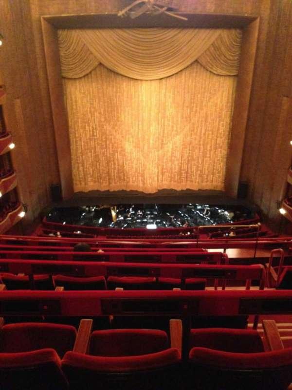 Metropolitan Opera House - Lincoln Center, sección: Balcony C, fila: F, asiento: 107