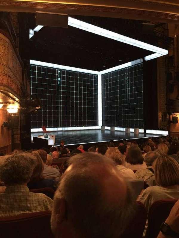 Ethel Barrymore Theatre, sección: Orchestra R, fila: M, asiento: 12