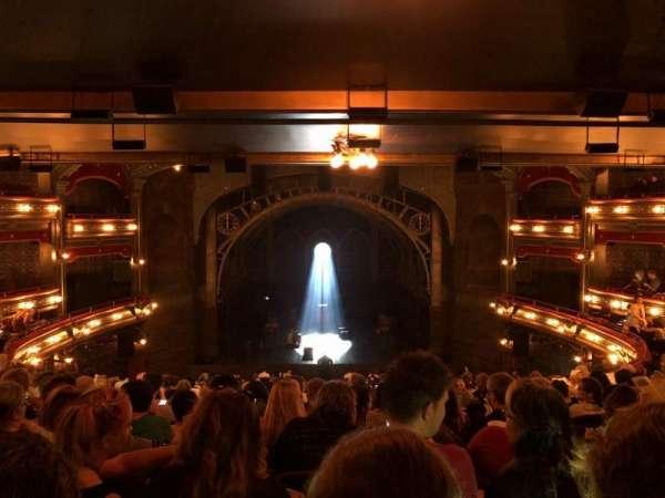 Lyric Theatre, sección: Dress Circle, fila: L, asiento: 114