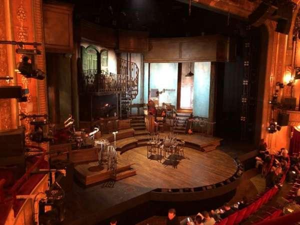 Walter Kerr Theatre, sección: Mezz, fila: B, asiento: 19