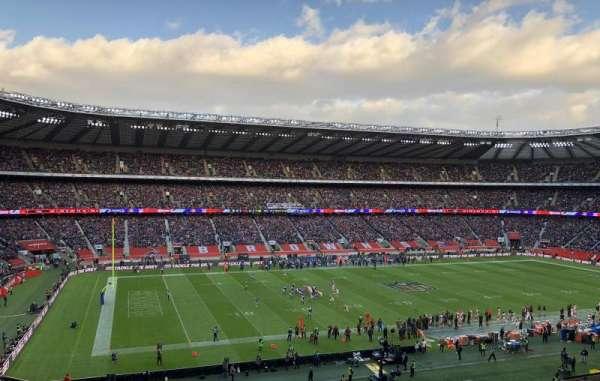 Twickenham Stadium, sección: M11, fila: 66, asiento: 290