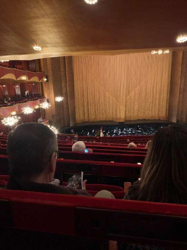 Metropolitan Opera House - Lincoln Center, sección: Grand Tier, fila: G, asiento: 119
