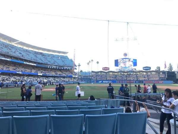 Dodger Stadium, sección: 12fd, fila: A, asiento: 3
