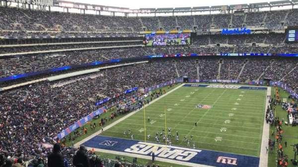 MetLife Stadium, sección: 249B, fila: 16, asiento: 20