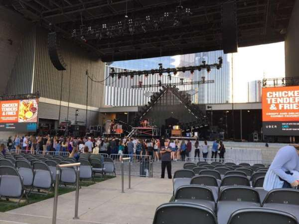 Ascend Amphitheater, sección: 101, fila: K, asiento: 28