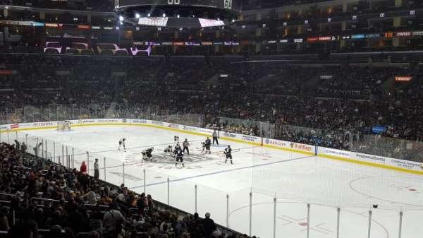 Staples Center, sección: PR10, fila: 6, asiento: 7