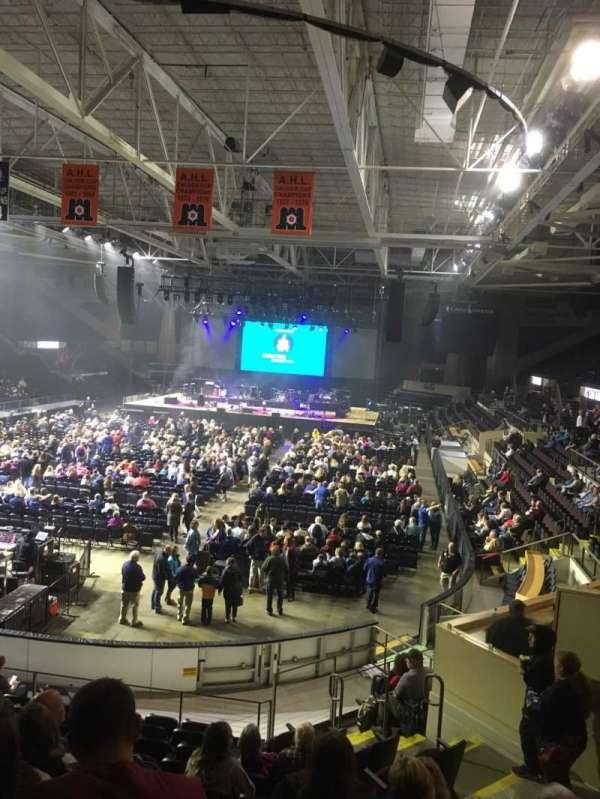 Cross Insurance Arena, sección: M, fila: 15, asiento: 8