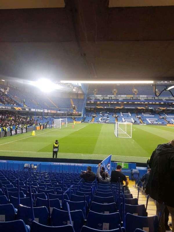 Stamford Bridge, sección: east lower south family, fila: u, asiento: 0025